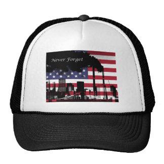 September 11 Never Forget Cap