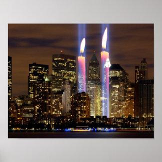"""""""September 11""""  """"New York City"""" Poster"""