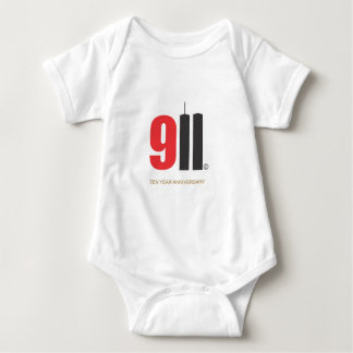 September 11 Twin Towers Baby Bodysuit