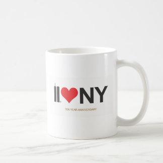 September 11 Twin Towers Love NY Coffee Mug