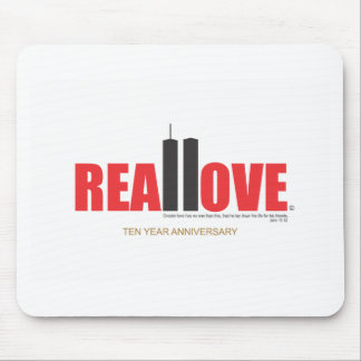 September 11 Twin Towers Real Love Mouse Pad