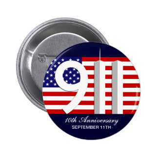 September 11th - 9 11 10th Anniversary WTC Pins