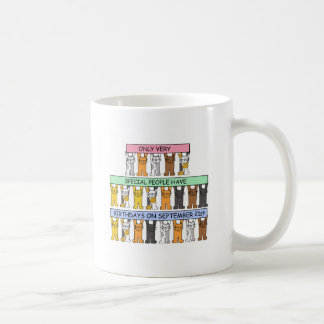September 21st Birthdays for special people. Coffee Mug