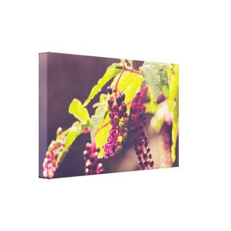 September berries canvas print