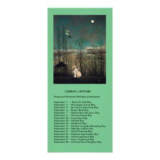 September events rack card design