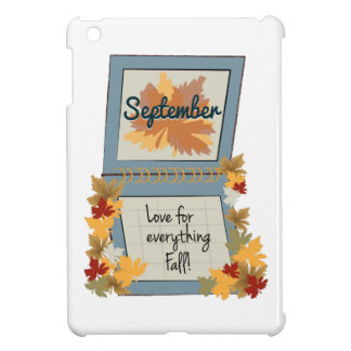 September Fall iPad Mini Cover