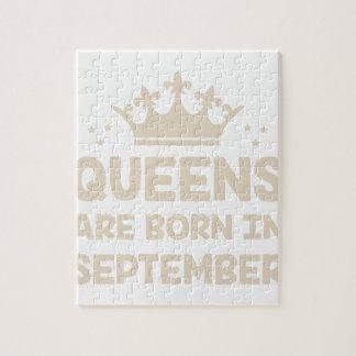 September Queen Jigsaw Puzzle