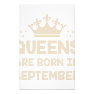 September Queen Stationery