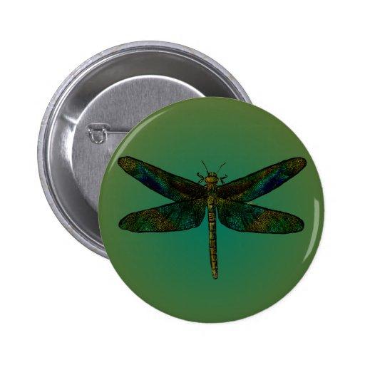 September Wing Dusk Flee Button