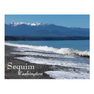 Sequim, Washington Travel Photo Postcard