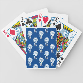 sequin bernie sanders bicycle playing cards