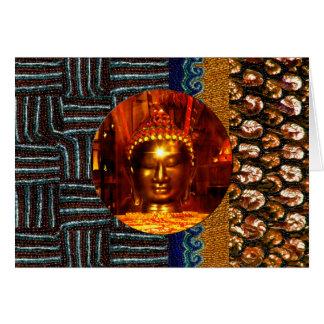 Sequin Buddha Birthday Card