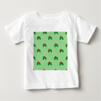 sequin christmas Holly Baby T-Shirt