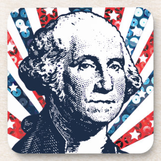 sequin george washington coasters