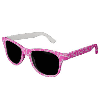 Sequin hearts sunglasses