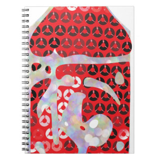 sequin hot sauce notebook