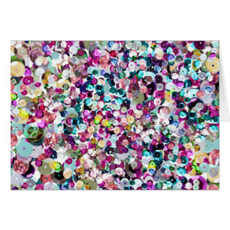 Sequin Sparkles Rainbow Card