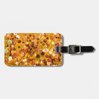 Sequins and Pins Luggage Tag