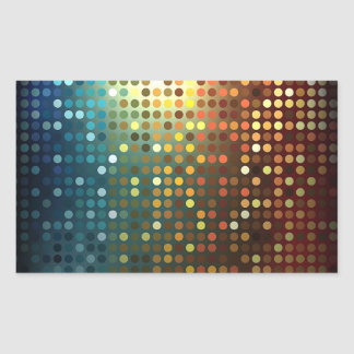 Sequins Rectangular Stickers