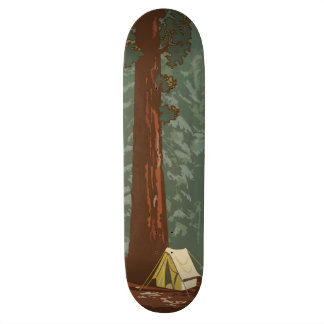 Sequoia National Park Custom Skate Board