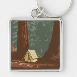 Sequoia National Park Key Ring