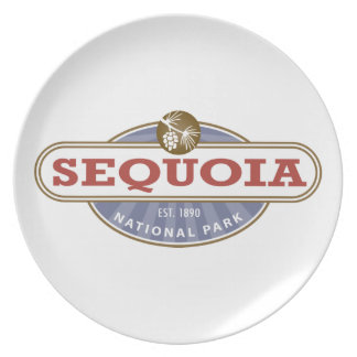 Sequoia National Park Plate