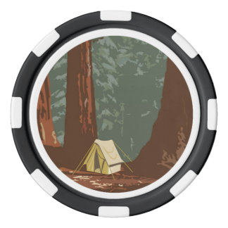 Sequoia National Park Poker Chips