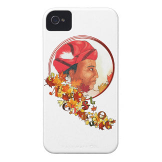 "Sequoyah & the Cherokee Syllabary ""Talking Leaves"" iPhone 4 Case"