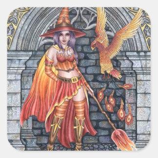 Serafina & Firenze - Fire Witch Sticker