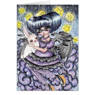 Seraphim Self Greeting Cards