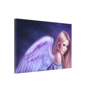 Seraphina Guardian Angel Art Canvas Print