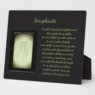 Seraphinite Crystal Fairy Plaque