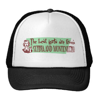 SERBIA AND MONTENEGRO MESH HATS