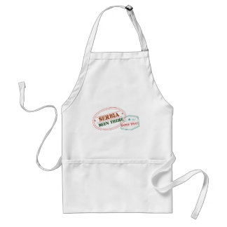 Serbia Been There Done That Standard Apron