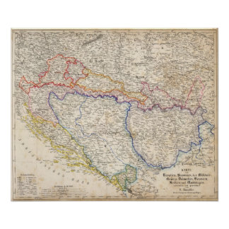 Serbia, Bosnia Poster