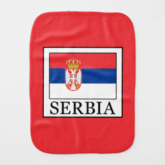 Serbia Burp Cloth