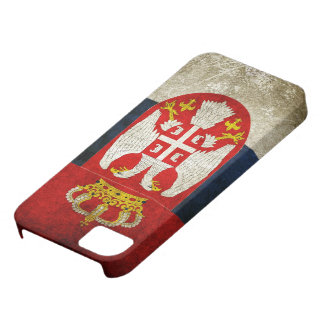 Serbia Flag Barely There iPhone 5 Case