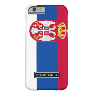 Serbia Flag Barely There iPhone 6 Case