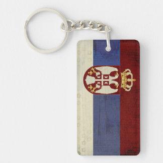 Serbia Flag Key Chain Souvenir