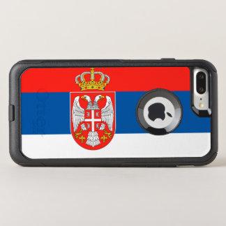 Serbia flag OtterBox commuter iPhone 8 plus/7 plus case