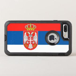 Serbia flag OtterBox defender iPhone 8 plus/7 plus case