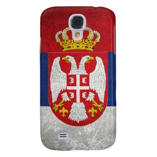 Serbia Flag Samsung Galaxy S4 Covers