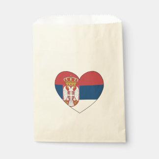 Serbia Flag Simple Favour Bag