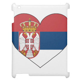 Serbia Flag Simple iPad Cover