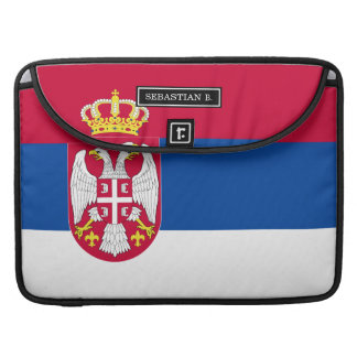 Serbia Flag Sleeve For MacBook Pro