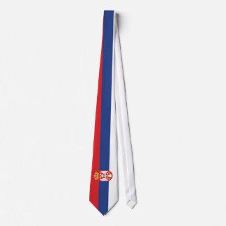 Serbia Flag Tie