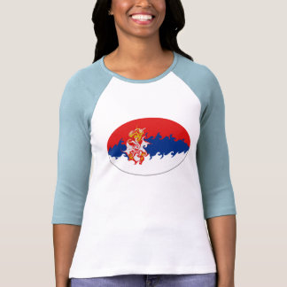 Serbia Gnarly Flag T-Shirt