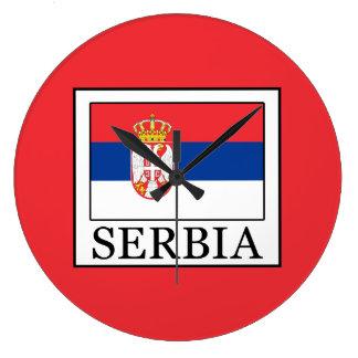 Serbia Large Clock