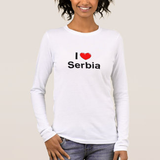 Serbia Long Sleeve T-Shirt