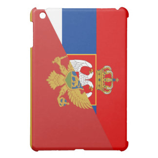 serbia montenegro flag country half symbol cover for the iPad mini
